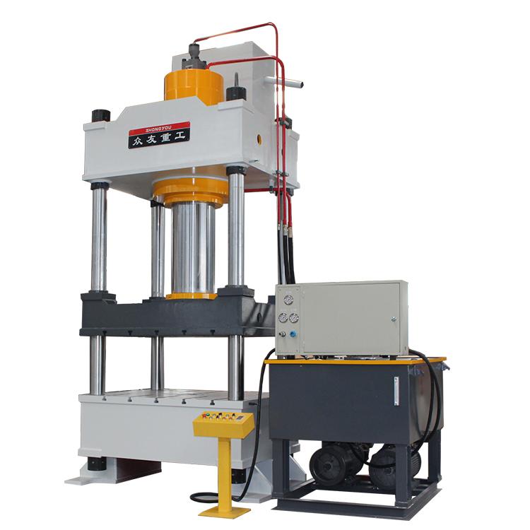 Hydraulic metal press processing for steel iron flower machine