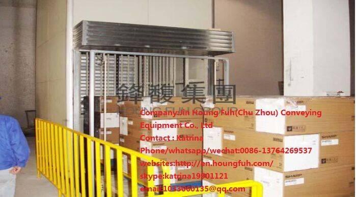 discontinuous vertical conveyor