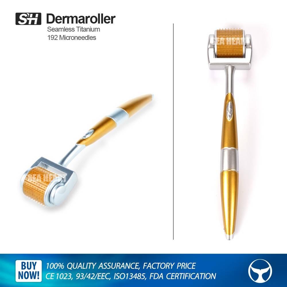 1.5 mm 192 titanium microneedle roller zgts derma roller for skin rejuvenation