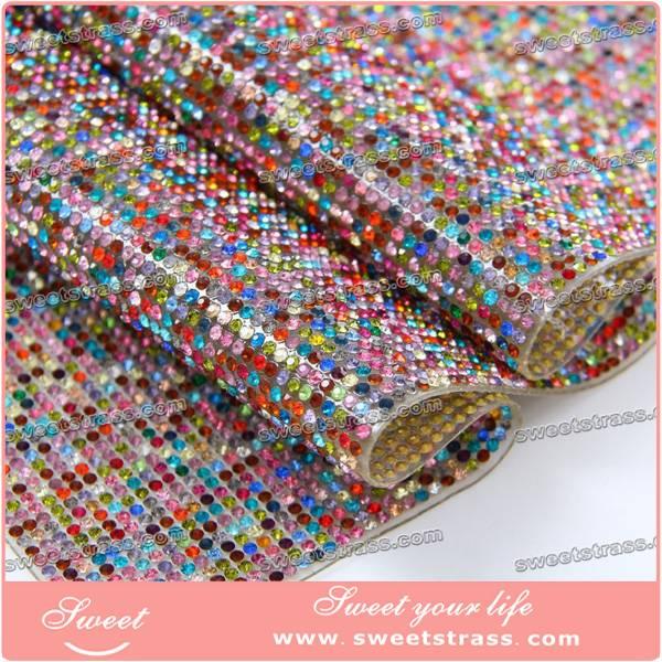 hotfix rhinestone sheet for dress,shoes