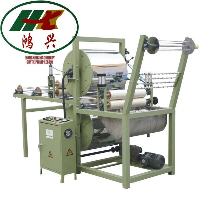 gas heating type starching and finishing machine