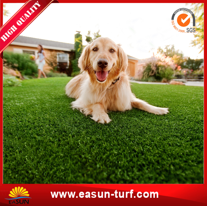 Factory Wholesale PP curly natural like garden artificial grass-AL