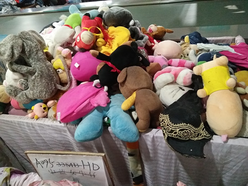 used plush dolls toys used clothes sale high quality second hand clothing
