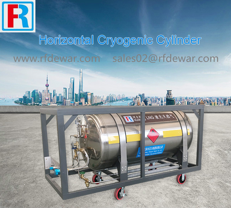 welded insulated stainless steel gas cylinder
