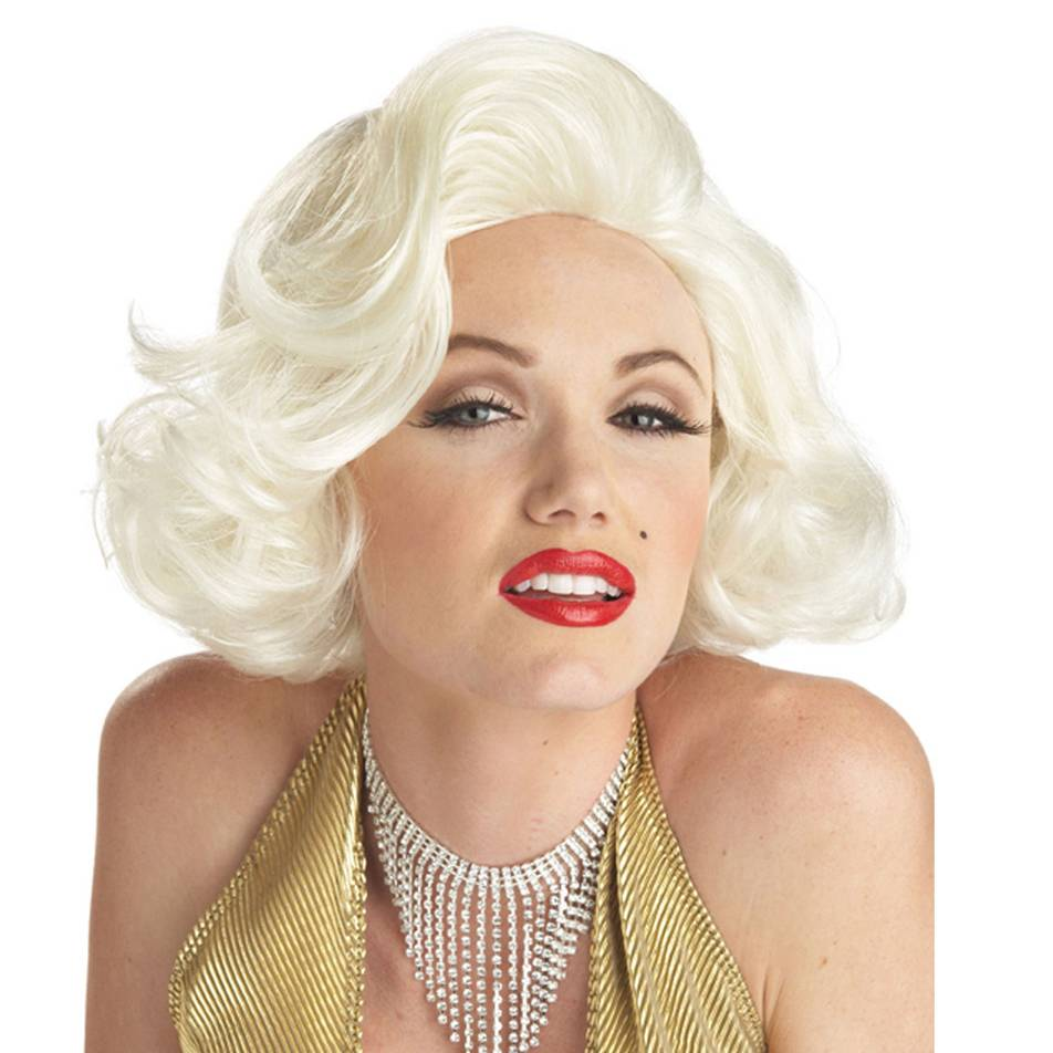 Classic Custume Marilyn Monroe wig blonde pin up girl wig