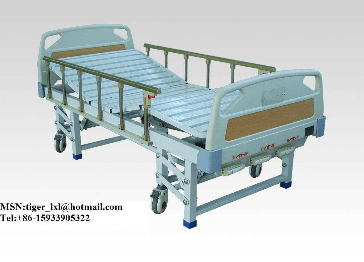 Movable Three Shakes Medical Bed A-12