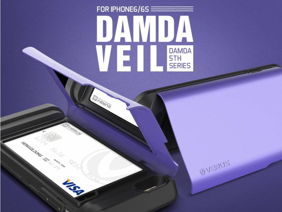 VERUS Damda Veil - iPhone6/6s, 6 Plus/6s Plus - Mobile phone case, Mobile phone accessories
