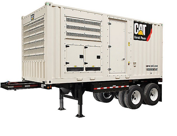#26424 500 KW Caterpillar XQ570 Generator