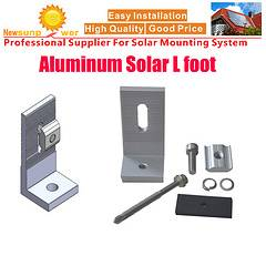 L-Feet Accessories for Solar PV Roof Structure