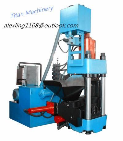 (Titan) Y83-3600 hydraulic metal scrap briquetting press