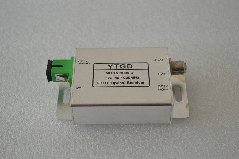 High stability FTTH AGC LOUDONG CATV mini Optical Receiver with SMNP