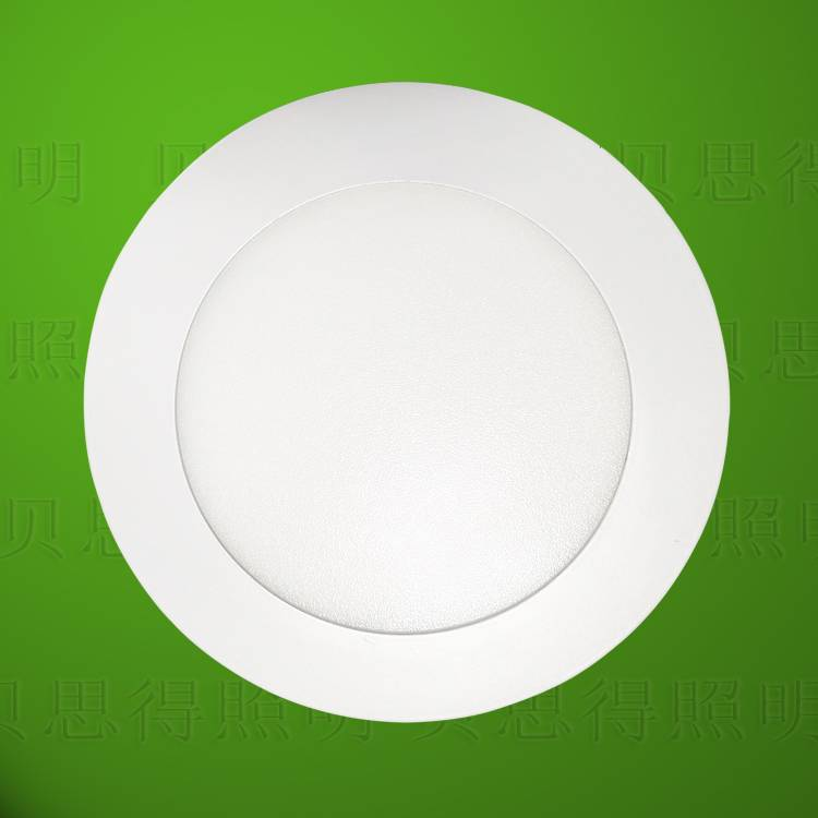 9W Circular LED panel light