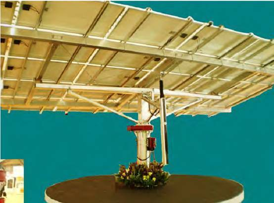 Slew Drive for Solar Energy