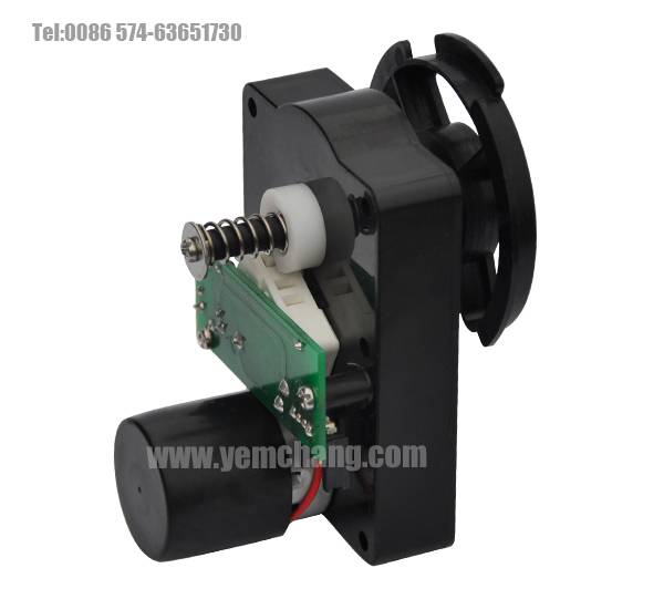 vending machine gear motor, gear boxes YC-VWDH100T904CC