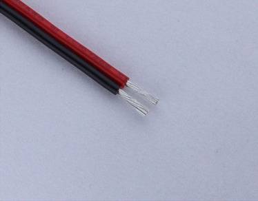 UL 2468 Cable 300V 80C Strand Copper Conductor PVC Insulation Flat Cable
