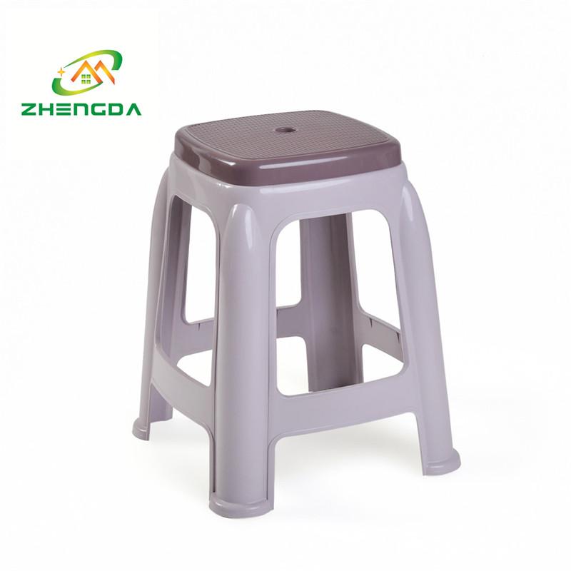 high rattan plastic stool durable office stool