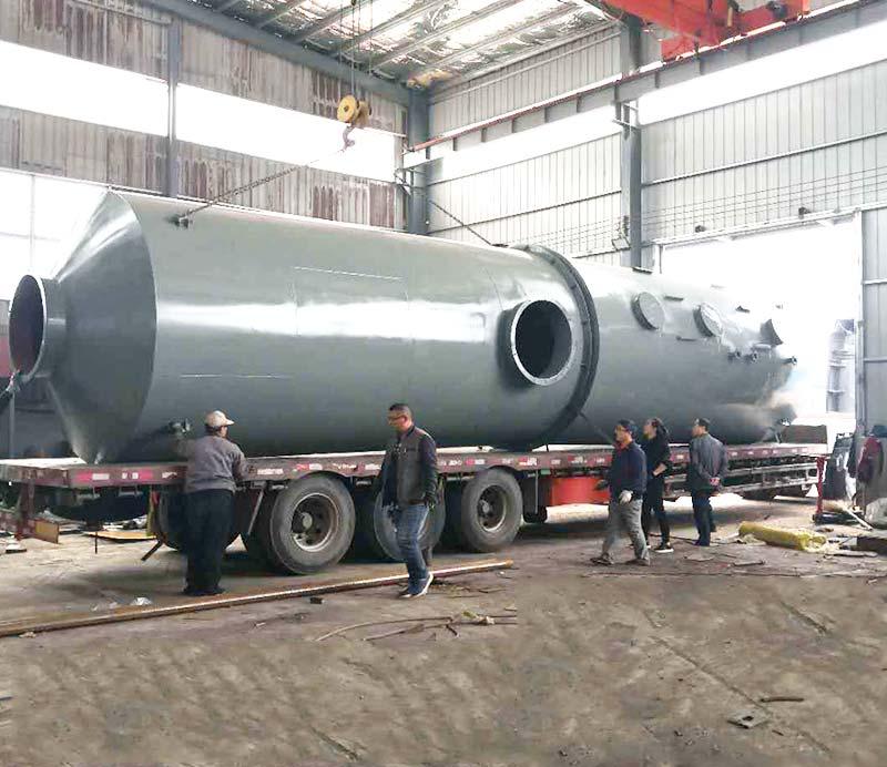 Stainless steel desulphurization deduster
