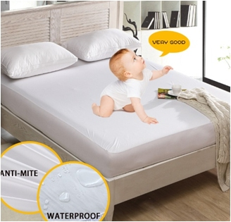 terry waterproof dust mite proof mattress cover