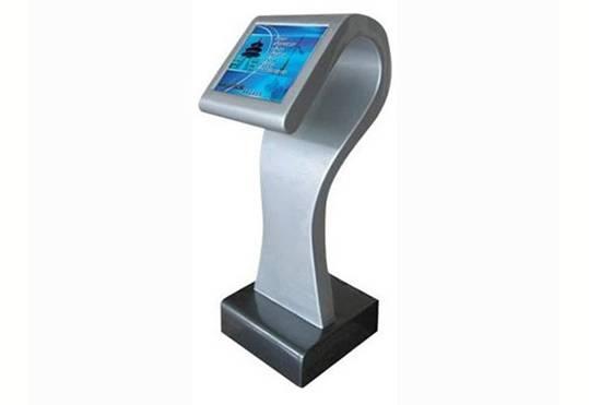 T1 stylish self service slim and sleek kiosk terminal system with i3 mini ITX Industrial Host Comput