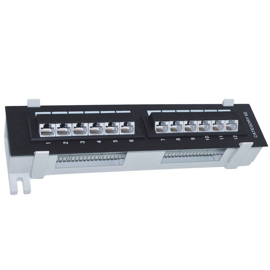 UTP Ethernet Patch Panel CAT5E/CAT6 48-port