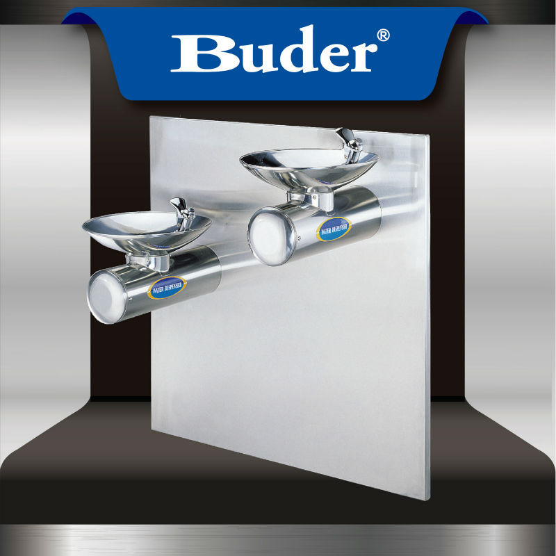 [ Taiwan Buder ] Hot selling double basin and top-press bubbler cold drinking fountain
