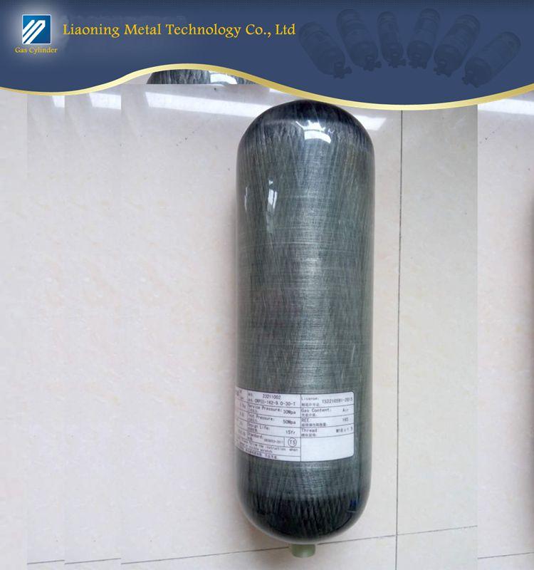 CRPIII55-0.35-30-T Carbon composite cylinder