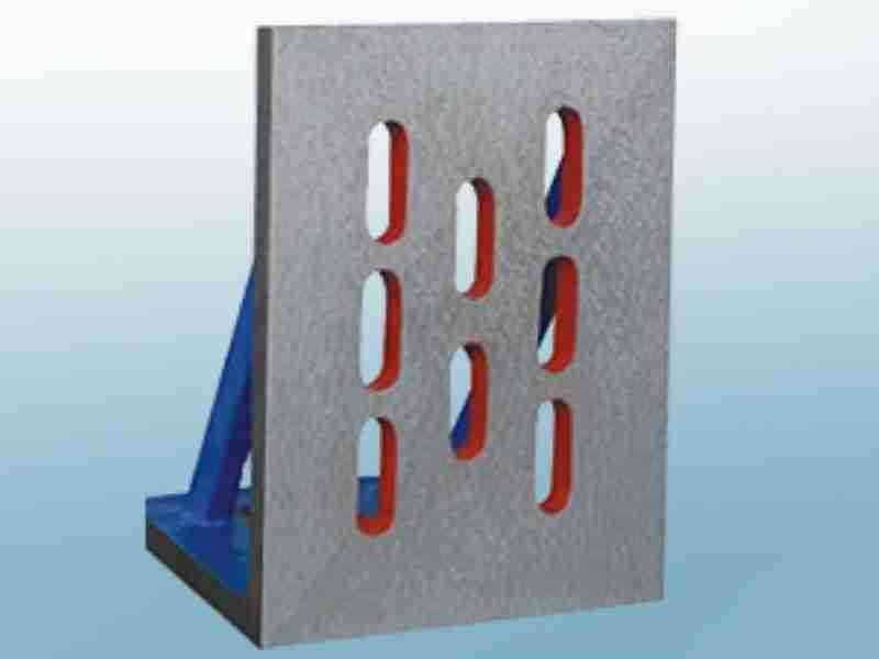 Vertical Check Bending Plate Machine Installation Cast Iron precision angle plates