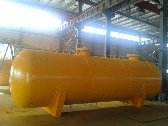 Gas storage tank pressure vessel factory ASME ISO9001 certified