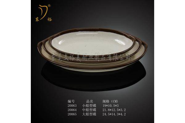 melamine dish pasta plate porcelain-like plate factory directly supply