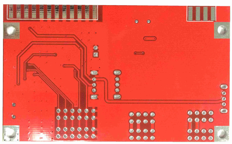 USB to RS232 PCB,4 Layers Lead-free HAL PCB