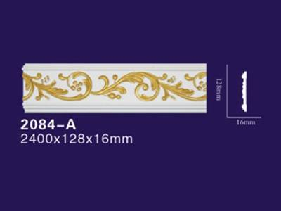 Auuan Freehand flat crown pu moulding 2084-A