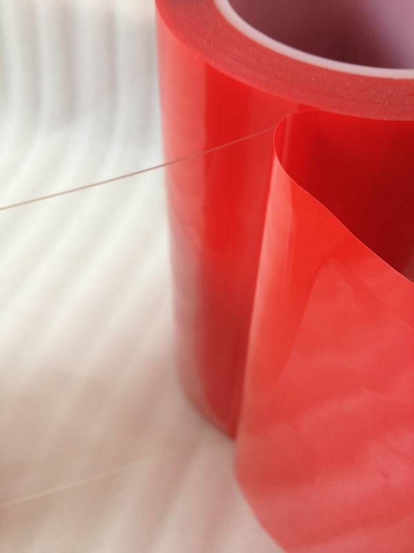 3M 4905 4910 Equivalent Red Liner Acrylic Foam Clear VHB Tape