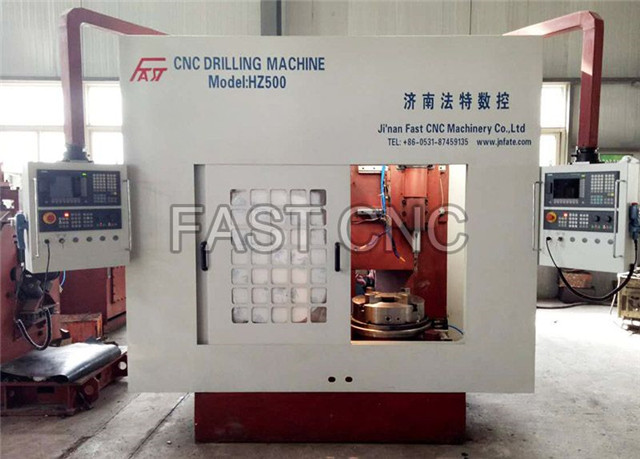 CNC Double-Spindle Flange Drilling MachineModel FLZ500-30-2