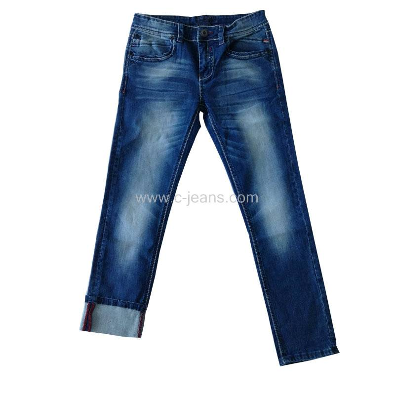 High quality comfortable fit new man jeans