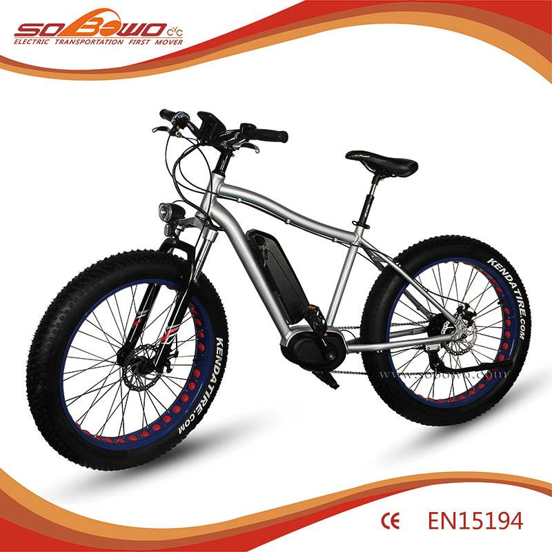 Electric Bike SOBOWO S36 250W Center Motor