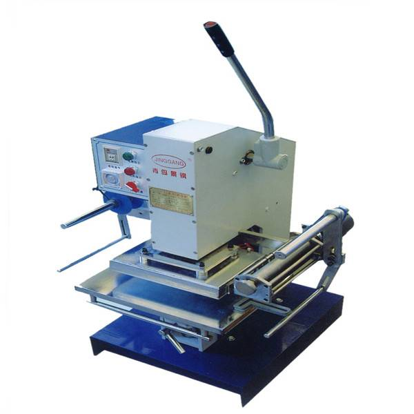 TJ-30 hand press gold foil printing machine for small business at home