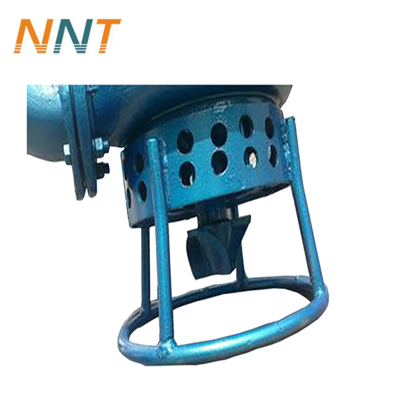High head concentration submersible sand pump slurry pump with agitator