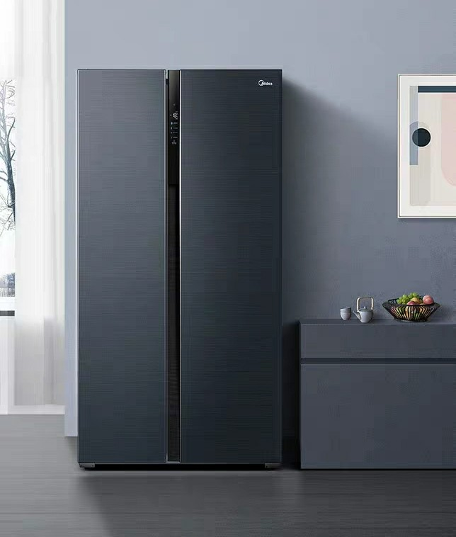 Refrigerator double door off home quick clean taste frost-free frequency refrigerator