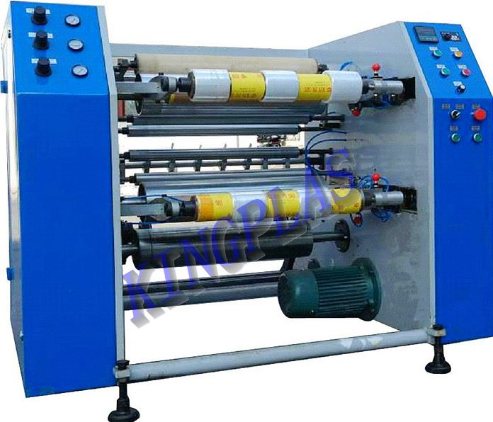 PE/PVC Stretch Film Rewinder&Slitter