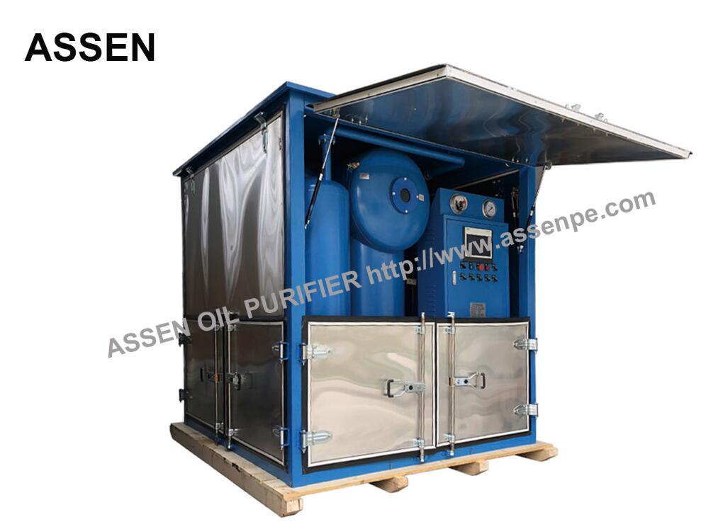 Double Stage Transformer Oil Purification System with Decompression Separation,Precise Filtration