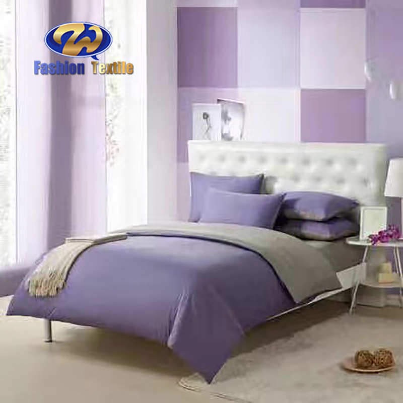 Cheap purple and grey king size bedding sets