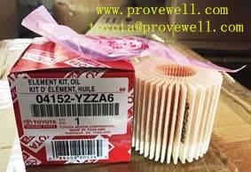 Oil filter manufacturer Toyota parts 04152-YZZA6