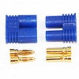 Whole network selling 30A connector brass gold plated EC2 connector