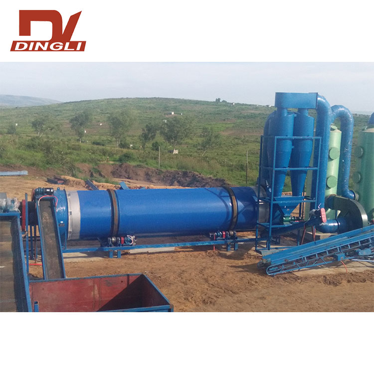 Poultry Manure Rotary Dryer for Organic Fertilizer
