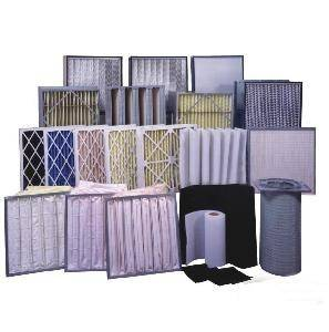 Air Filters with Pre, Medium and HEPA Filters
