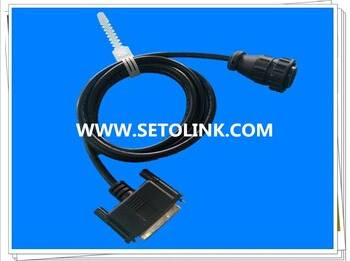 DB25 PIN TO 16 PIN OBD ADAPTER CABLE FOR HEAVY TRAILER VEHICLE