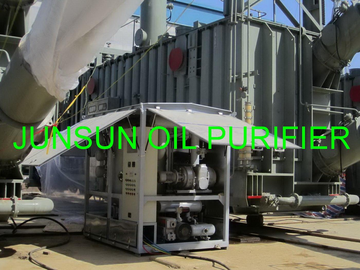 Excellent Quality High Voltage Large Capacity Transformer Oil Purifying/ Filtering Machine