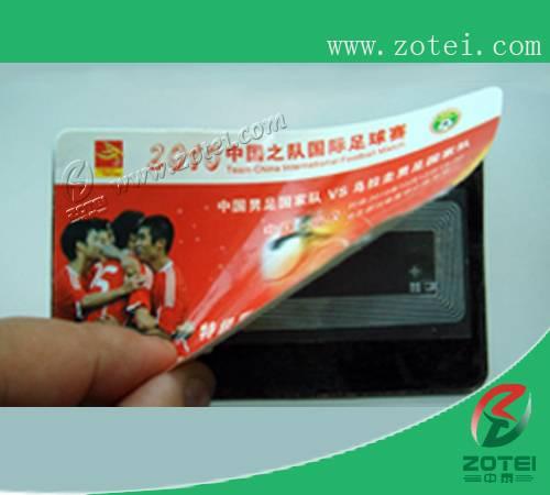 RFID football game ticket