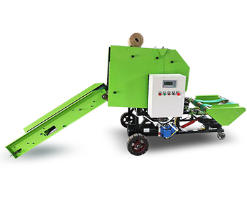 automatic silage round baler