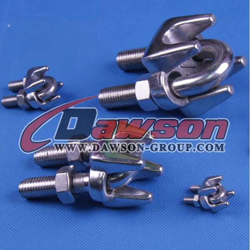 DIN741 stainless steel wire rope clips